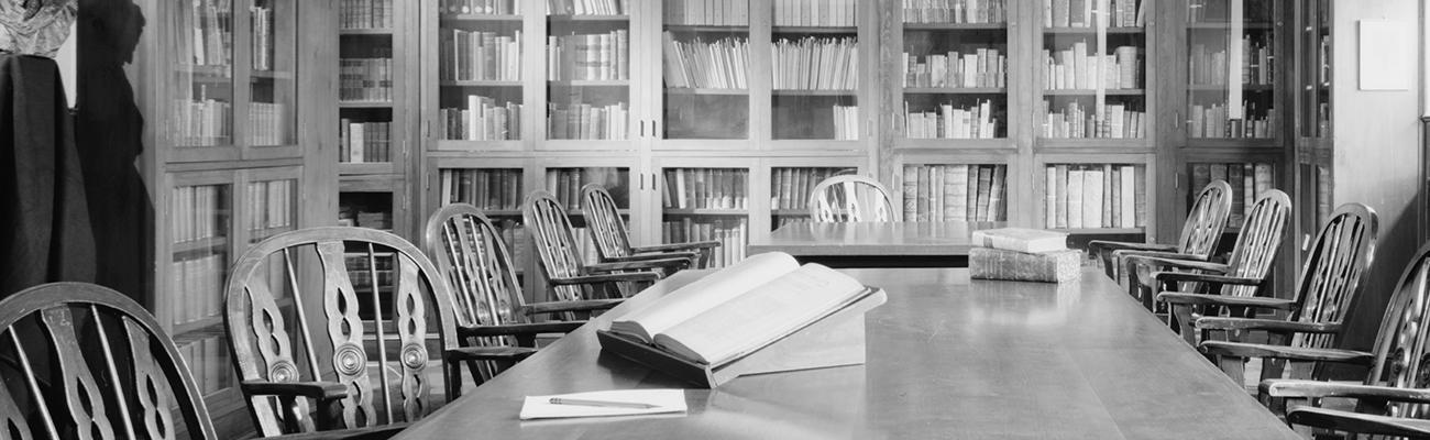 Oskar Diethelm Library Reading Room