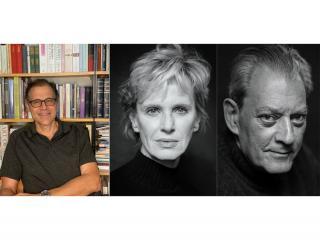 George Makari, Siri Hustvedt, and Paul Auster