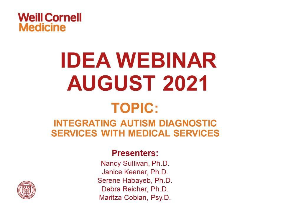 IDEA Webinar-August 2021-2